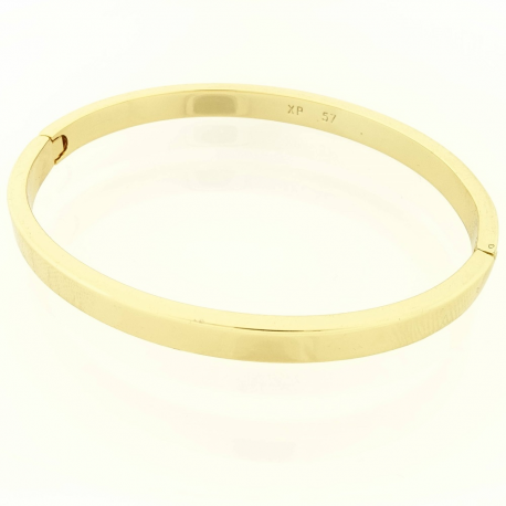 BRANSOLETKA POZŁACANA 57/5MM ZŁOTY BANGLE XUPING 16794